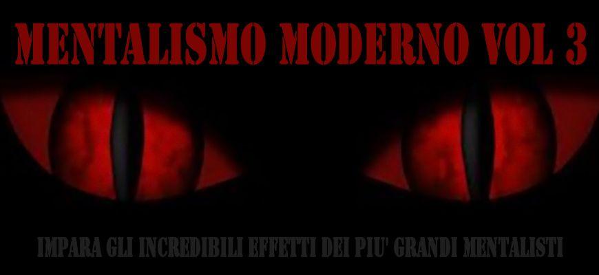 Mentalismo moderno Vol 3